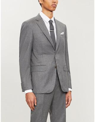 Canali Regular-fit single-breasted wool blazer