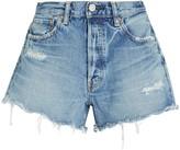 Moussy Vintage Chester Distressed Denim Shorts
