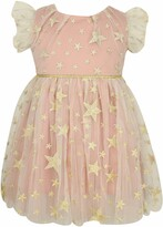 Popatu Embroidered Star Tulle Dress
