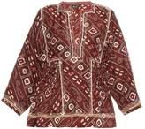 Isabel Marant Topaz printed silk top