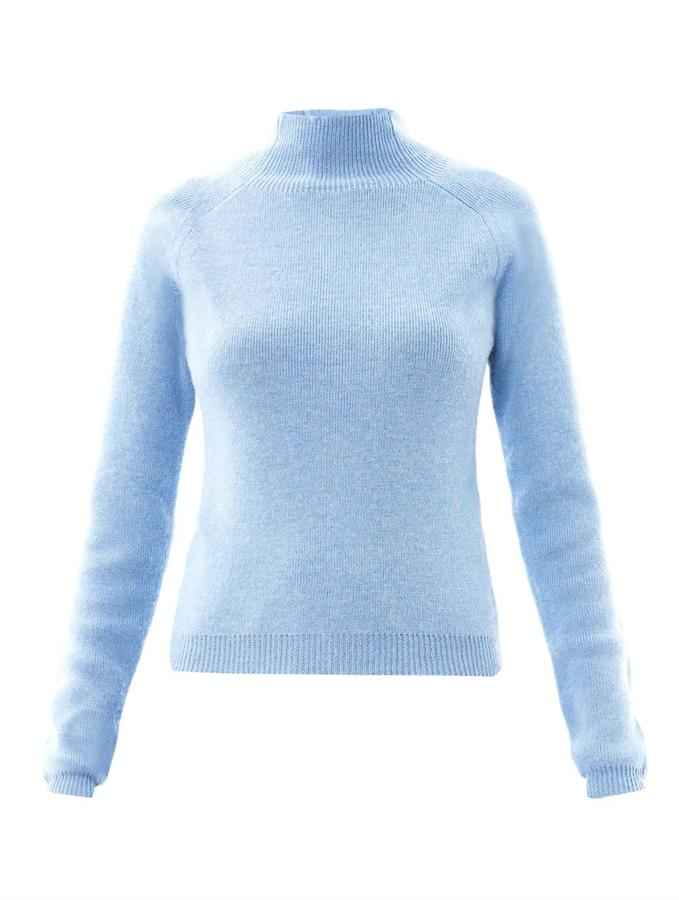 Carven Turtle-neck wool sweater