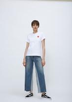 Comme des Garcons white t-shirt