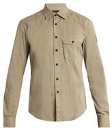 Belstaff Steadway Point-collar Cotton Shirt