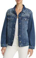 Mavi Jeans Karla Embellished Denim Jacket