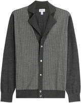 Brioni Cardigan with Silk, Wool and Cashmere
