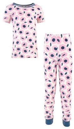 Touched by Nature Kids Cotton Tight-Fit Pajama Set Sizes 6-14