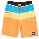 Quiksilver 'Sunset Future' Board Shorts (Toddler Boys, Little Boys & Big Boys)