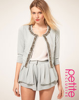 ASOS PETITE Exclusive Jacket With Embellishment