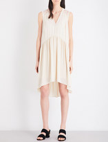Sandro Flared chiffon dress