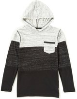 First Wave Little Boys 2T-7 Striped Hoodie Shirt