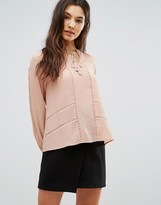 Greylin Trina Pleated Blouse
