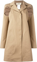 Ports 1961 slit arms raincoat - women - Cotton - 40