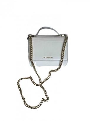 Givenchy Pandora Box White Leather Handbags