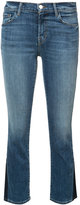J Brand Selena cropped jeans