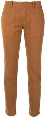 Nili Lotan Slim Fit Cargo Trousers