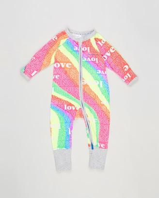 Bonds Baby - Pink Longsleeve Rompers - Zip Wondersuit - Babies - Size 0000 at The Iconic