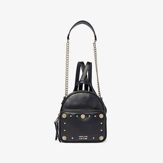 Versace Eco Leather Backpack (Black) Backpack Bags