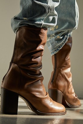 Fp Collection Elle Block Heel Boots