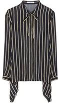 Etro Striped Silk Shirt