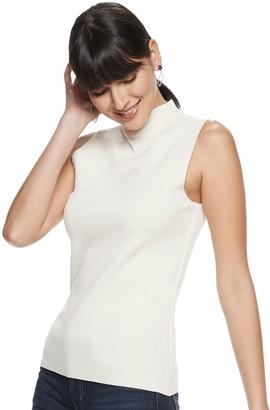Nine West Women's Structured Sleeveless Sweater