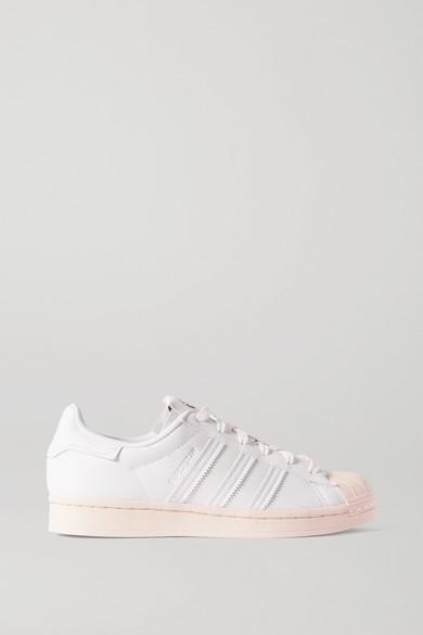 adidas Superstar Vegan Leather Sneakers - White