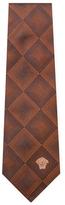 Versace Squares Silk Tie