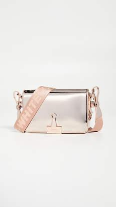Off-White Mirror Mini Flap Bag