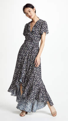 Lost + Wander Araceli Wrap Maxi Dress