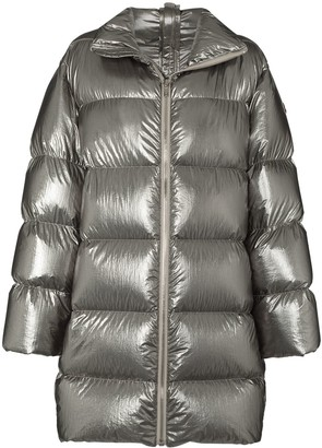 Moncler + Rick Owens Cyclopic padded coat