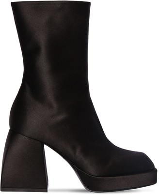 Nodaleto 85mm Corta Satin Ankle Boots
