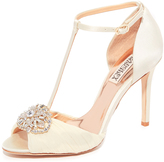 Badgley Mischka Darling T-Strap Sandals