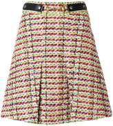 Gucci Horsebit Tweed Mini Skirt
