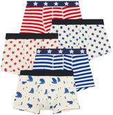 Petit Bateau Pack of 5 boxer shorts