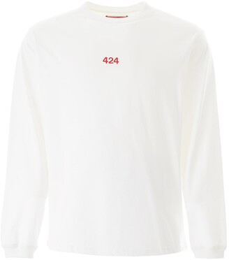 424 Logo Embroidered Long-Sleeve T-Shirt