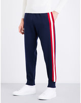 Bally Striped wool jogging bottoms