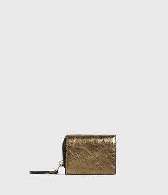 AllSaints Bede Leather Wallet