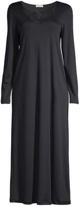 Hanro Adina Lace Trim Gown