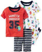 Carter's Toddler Boy Graphic & Print Tees, Shorts & Pants Pajama Set