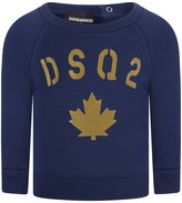 DSQUARED2 Baby Boys Navy Logo Sweater