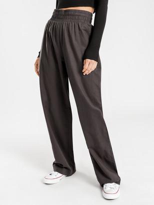Nude Lucy Amber Linen Pants in Coal