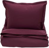 Gant Sateen Duvet Cover - Purple Fig - Super King