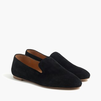 J.Crew Suede smoking loafers