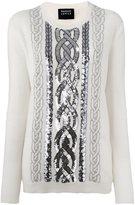 Markus Lupfer sequin embellished jumper - women - Wool - S