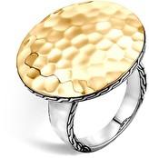 John Hardy Sterling Silver & 18K Gold Palu Round Ring