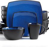 Gibson Soho Lounge Blue 16-Piece Set