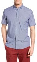 Maker & Company Men's Microcheck Sport Shirt
