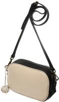 BEIGE Nadia Minkoff The Borough Camera Bag with Black