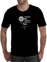 TopLAD U.S.S Enterprise Blueprints. Star Trek Mens T-Shirt /