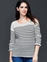 Gap Brooklyn stripe scoop sweater