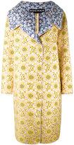 Rochas floral print coat - women - Silk/Cotton/Polyamide/Polyester - 42